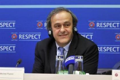 Uefa president Michel Platini is considering sin-bins for football