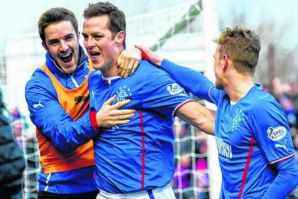 Jon Daly's header against Ayr took his tally to 21 for the season