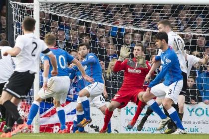 Bell produced heroics to deny Ayr