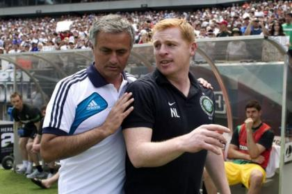 Mourinho and Lennon met in the United States when Real Madrid played Celtic in 2012