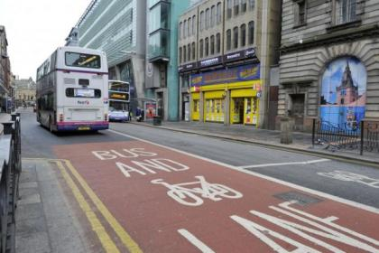Neil Greig feels too much money is being raised by the bus lanes