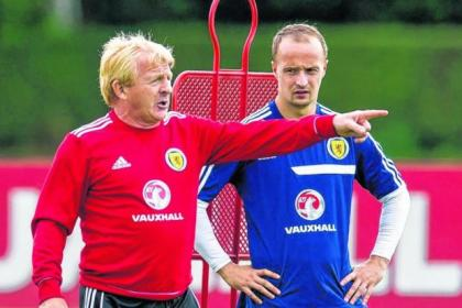 Gordon Strachan reckons Leigh Griffiths will get better now he is playing at Celtic