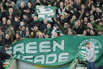 Celtic's Green Brigade returned against St Johnstone