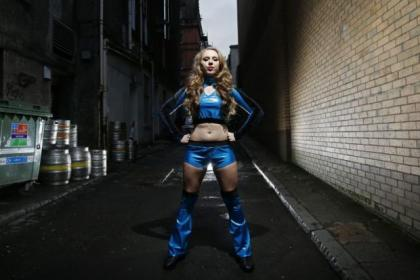 Courtney Stewart is set for a new career as a professional wrestler