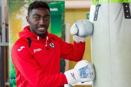 Prince Buaben has the gloves on for Partick Thistle safety fight
