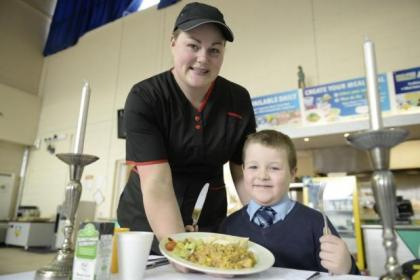 Cordia's six millionth school was served by Tracey Kilcullen to Daniel Rushford