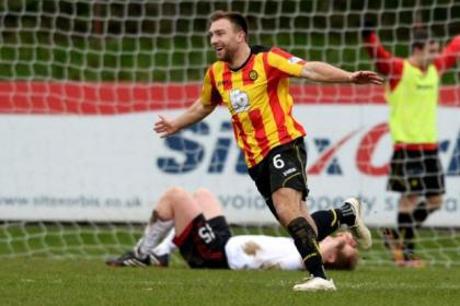 Conrad Balatoni hit Partick Thistle's opener against Aberdeen