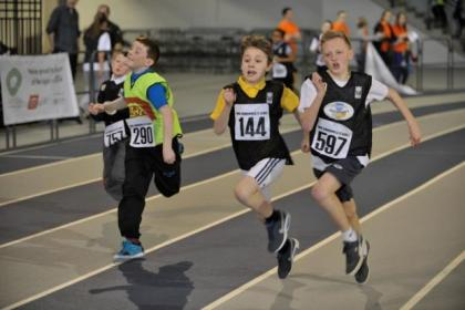 The children competed for medals in the Mini-Commonwealth Games