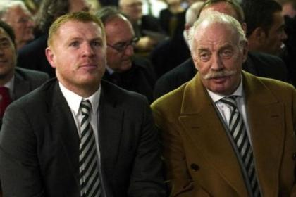 "Dermot Desmond hailed Neil Lennon as a ""first-class manager"""