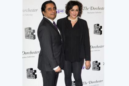 Meera Syal and Sanjeev Bhaskar.