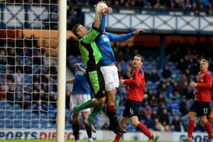 Bilel Mohsni grabbed a dramatic equaliser against Albion Rovers