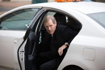 Dave King arrives in Glasgow
