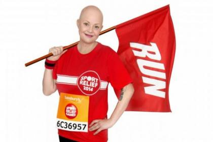 Gail Porter is gearing up for the Sport Relief Mile