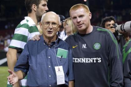 McCann and Neil Lennon met up in Boston and the Celtic manager introduced him to the players of today