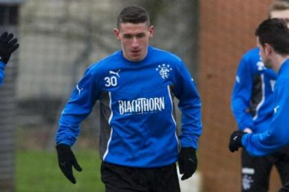 Fraser Aird is not distracted by off-field developments at Rangers