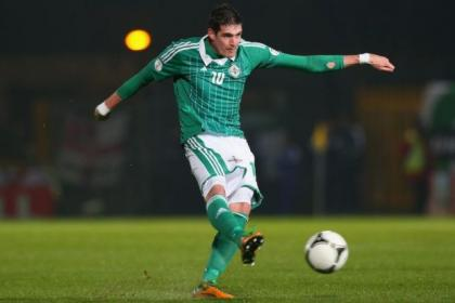 Kyle Lafferty is hoping to get his Northern Ireland career back on track
