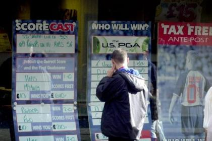 Glasgow has one betting shop for every 2458 people