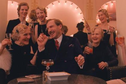 Ralph Fiennes is on wonderful form as the imperious concierge Gustave