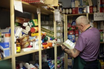 Demand for food banks has increased