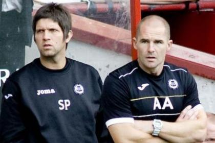 Scott Paterson and Alan Archibald will scout Hibs ahead of next week's fixture