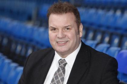 Rangers legend Derek Johnstone