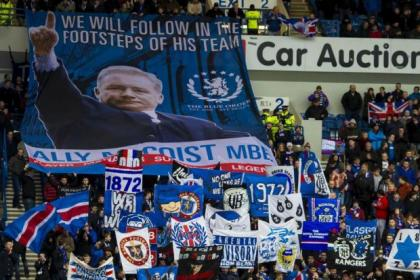 Rangers fans will receive a leaflet from the Union of Fans at Sunday's cup tie