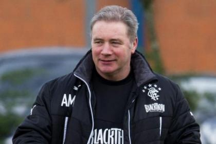 Ally McCoist is reasonably happy with where Rangers are