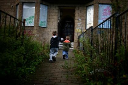 Deputy First Minister Nicola Sturgeon launched a new strategy to tackle child poverty