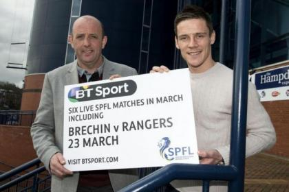 Rangers ace Ian Black is joined by BT Sport's Gary McAllister to plug the Brechin game
