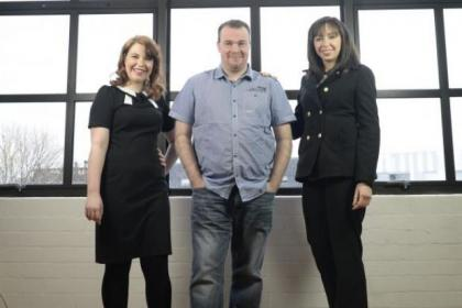 Laura McKinnon, Alan Armitage and Elaine Burns