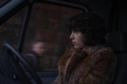 Scarlett Johansson was filmed by hidden cameras in Glasgow city centre