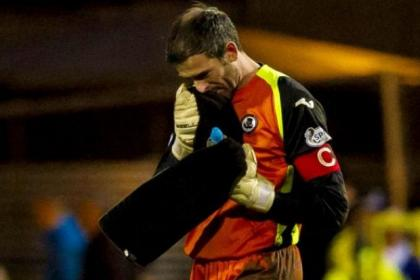 Paul Gallacher has been in fine form for Thistle recently