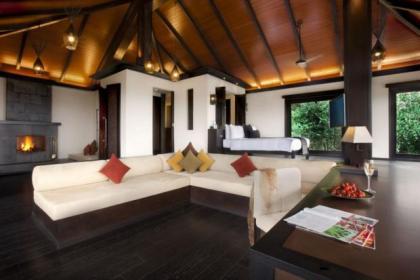 A room at Vivanta Hotels and Resorts By Taj, in Coorg, Karnataka, India