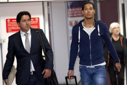 Virgil van Dijk's agent Henk-Maarten Chin has been sounding off about his client's prospects of a move elsewhere