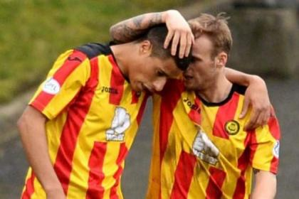 Lyle Taylor shot Jags to a Firhill win and Kallum Higginbotham hopes he can repeat the feat