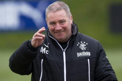 Ally McCoist is hoping to progress talks with Graham Wallace over budget for next season