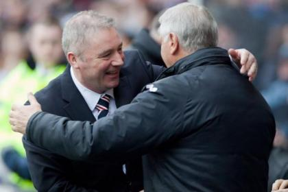 McCoist enjoyed victory over Dunfermline at the weekend ahead of tonight