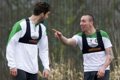 Scott Brown, now 28, is pointing the way forward for Charlie Mulgrew and Co as Celtic close in on their third title in a row