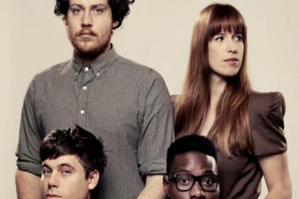 Joseph, Oscar, Gbenga and Anna are looking forward to Glasgow gig