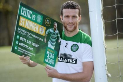 Celtic's Adam Matthews looks ahead to this weekend's SPFL Premiership match against St Mirren at Parkhead