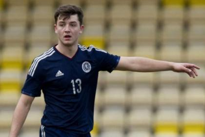 Craig Halkett received his Scotland Under-19 debut against Switzerland earlier this month after making progress at Rangers