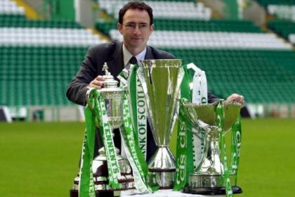 Neil Lennon wants to enjoy a treble like Martin O'Neill did back in 2001