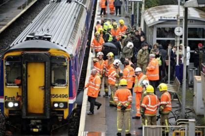 Rail bosses said a faulty fire alarm caused the problem