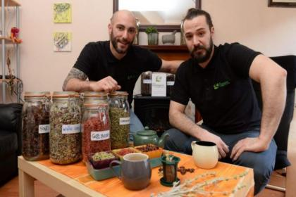 Dimitris Kourtoumpelidis and Vassilis Xanthopoulos of Dionysus Quality Products