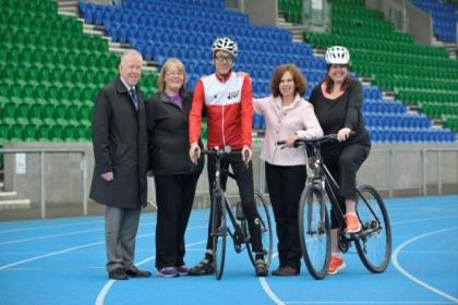 Debbie Houston has vowed to pedal her way to fitness
