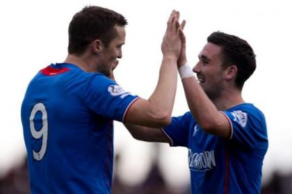 Strikers Jon Daly and Nicky Clark could be key players for Rangers in their search for more silverware in the coming months