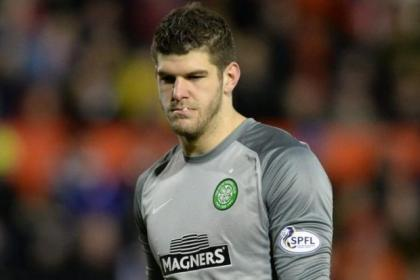 Fraser Forster has had a record-breaking season for Celtic