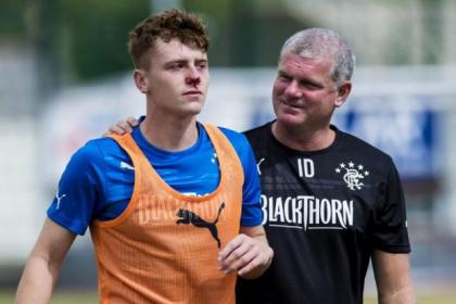 Lewis McLeod is predecited to make a full recovery after his heart scare but his presence will be missed by Gers