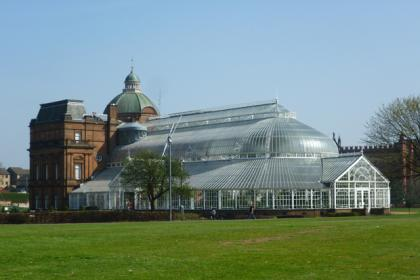 People's Palace in the Glasgow Green.