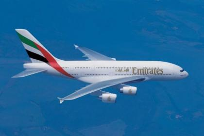 The Airbus 380 will be flying into Glasgow Airport on April 10 for three hours